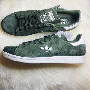 Adidas Men's Original Stan Smith Green Suede